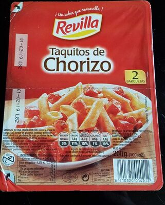 Taquitos de Chorizo - Product - es