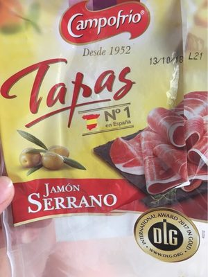 Jamon serrano Tapas - Product