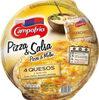 Pizza quesos gouda, cheddar, mozzarella y manchego - Product