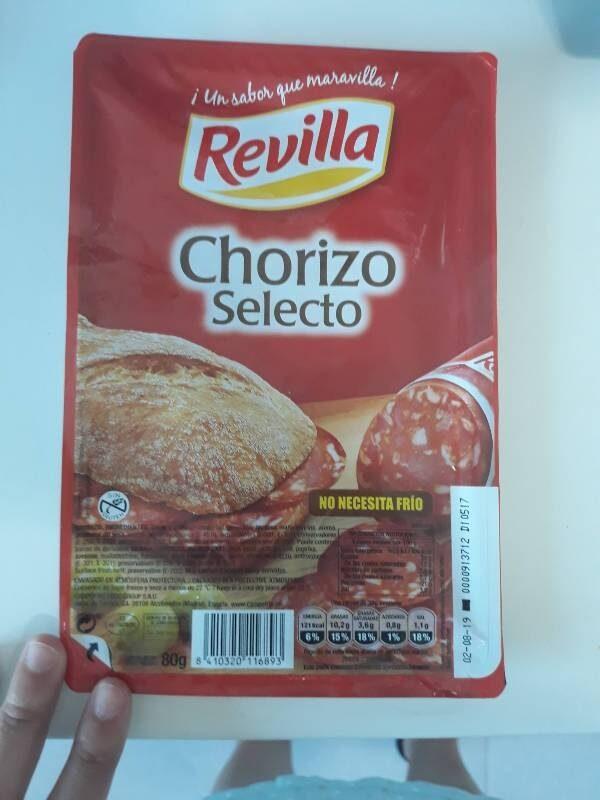 Chorizo Selecto - Producte