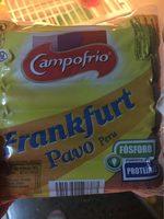 Salchichas Frankfurt Campofrio Pavo 140GRS - Product - fr