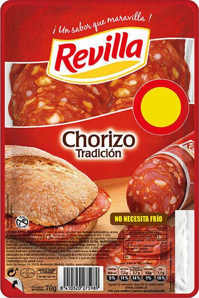 Chorizo tradición extra lonchas sin gluten - Producte - es