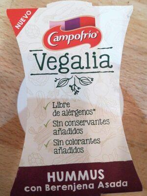 Hummus Con Berenjena Asada - Producto - es