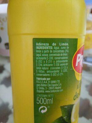 Agrio Limon Prima 500ML