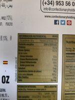 Torta de turrón duro - Nutrition facts