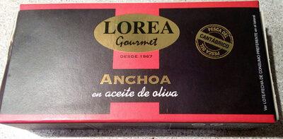 Anchoa - Producto