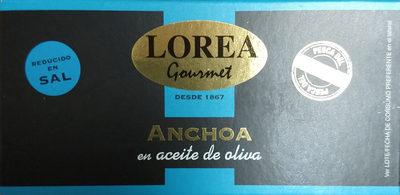 Anchoa en aceite de olivia
