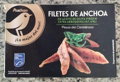 Filetes de anchoa en AOVE 47'6%