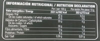Chocolate negro 70% - Voedingswaarden - es