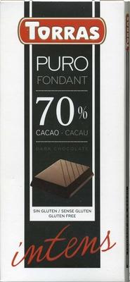 Tableta de chocolate negro 70% cacao - Producte - es