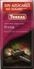 Tableta de chocolate negro edulcorado con fresa 50% cacao - Product