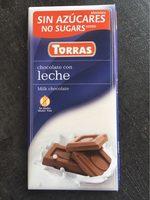 Chocolate con leche torras - Producte