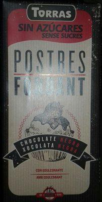 Torras No Added Sugar Dark Cooking Chocolate Bar (Pack Of 5) - Ingredients - fr
