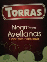Chocolate negro con avellanas - Product
