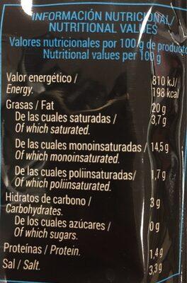 Let's go ! - Informació nutricional - es
