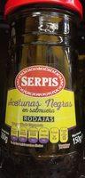 Aceitunas negras en rodajas frasco 150 g - Produit - es