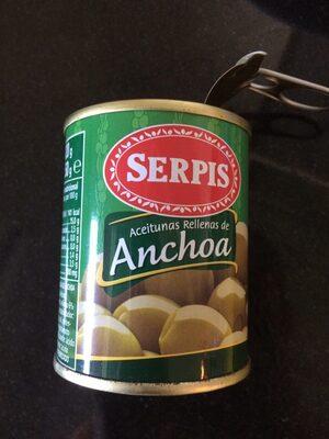 El Serpis Anchoa Olives 125 Gram - Producte