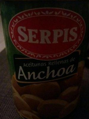 Aceituna Rellena De Anchoas - Produit - fr