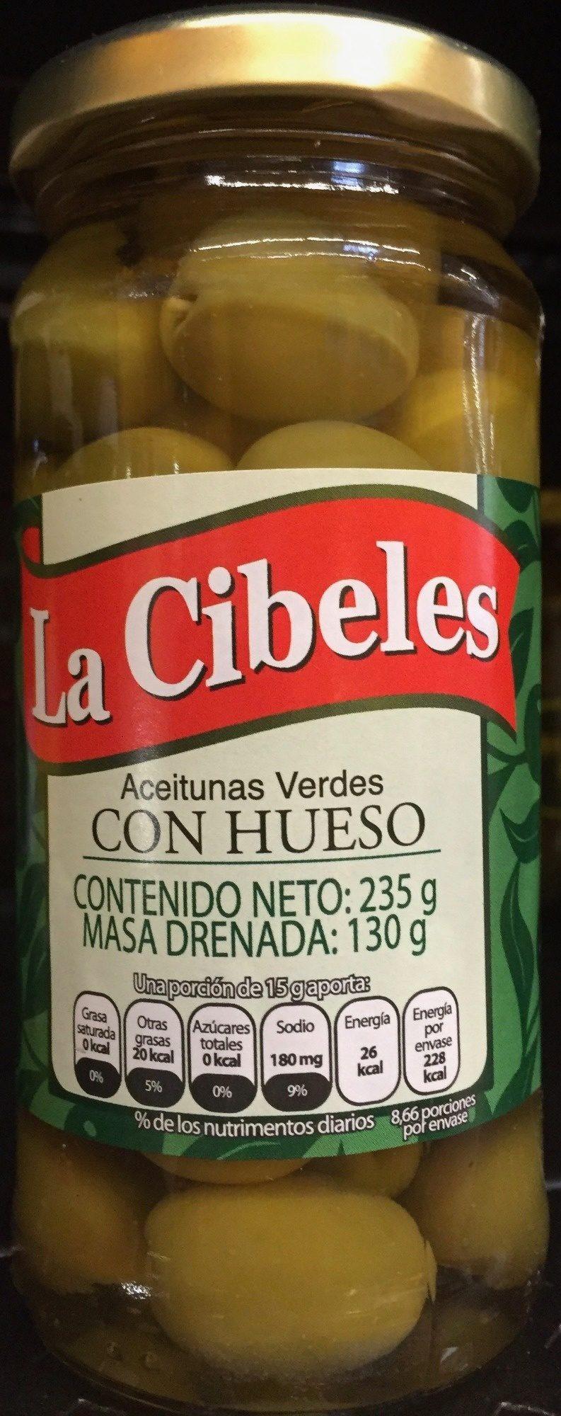 Aceitunas Verdes con Hueso - Produit - es