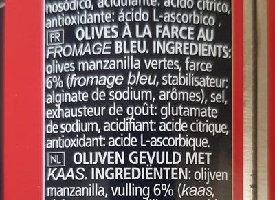 Sabores Queso Azul - Ingrédients - fr