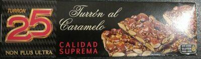 Turrón al caramelo - Product - es