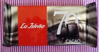 Chocolate negro 70% cacao - Producto - es
