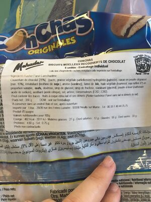 Conchas - Ingredients