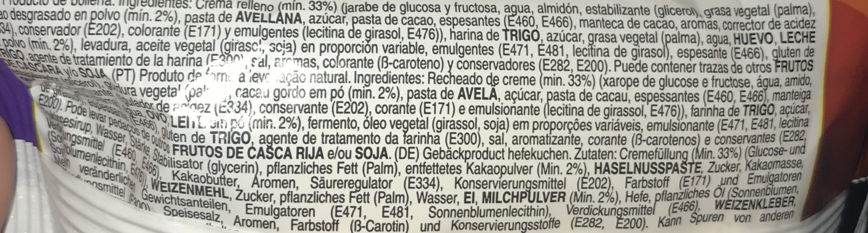 Rooly Sad - Ingredients - fr