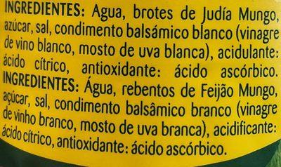 Brotes germinados - Ingrediënten