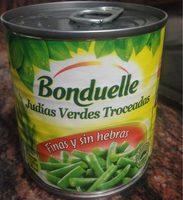 Julias verdes troceadas - Product - fr