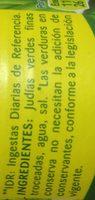 Julias verdes troceadas - Ingredients - fr