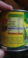 Julias verdes troceadas - Nutrition facts - fr