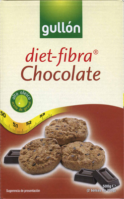 Diet-fibra chocolate - Produit - es
