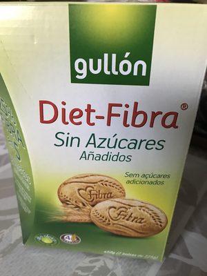 Galleta Gul.diet 3 Fibra 500G - Producte