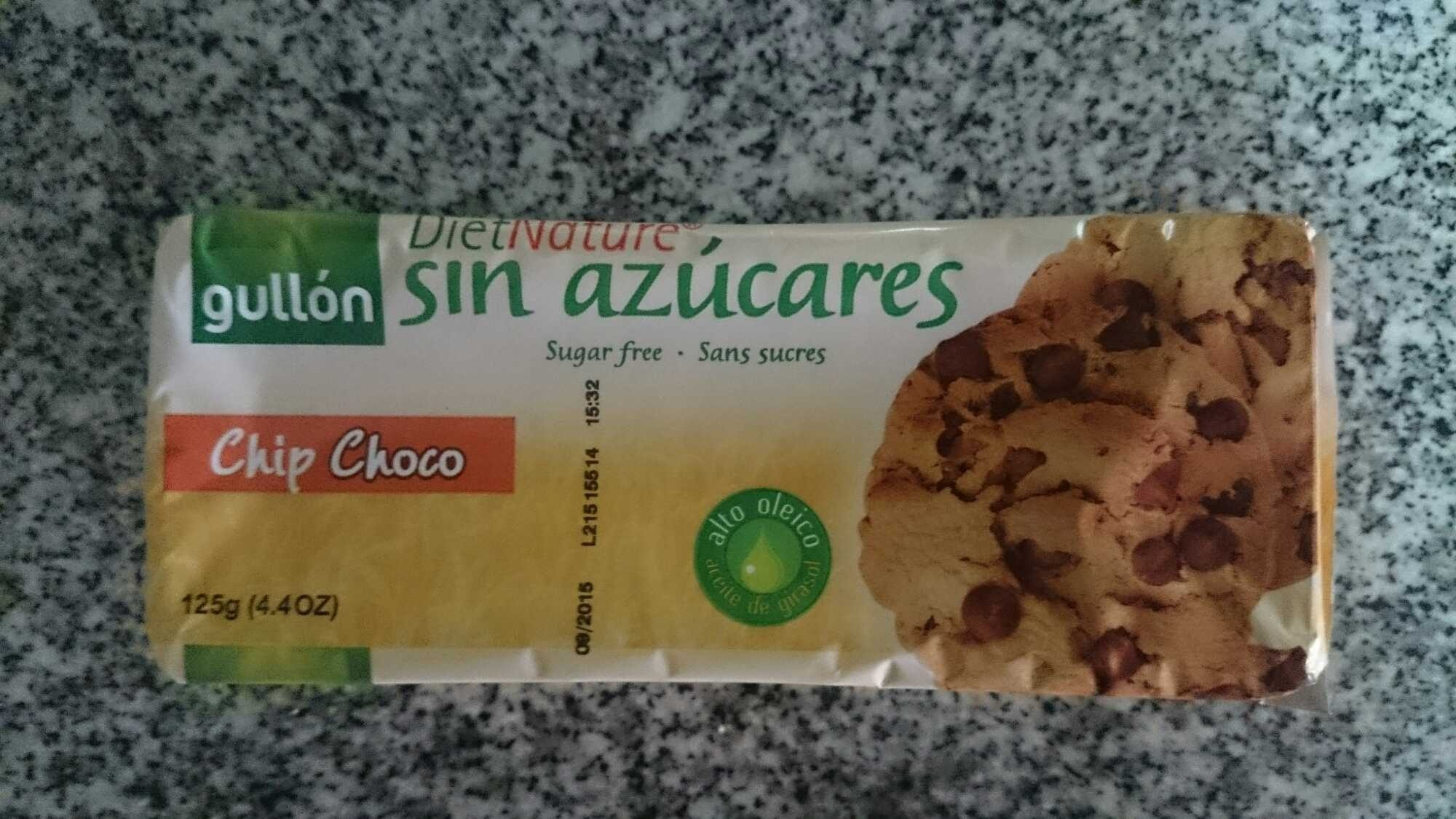 Diet Nature chip choco sin azúcares - Producto