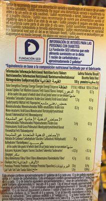 Diet Nature María sin azúcares - Información nutricional - es