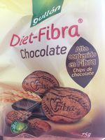 Galletas Diet-fibra Choco X75grm. gullon - Producto - es