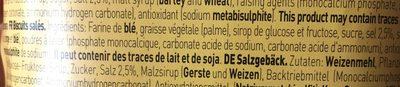 """12 Paquets De Assortiment Snack Salés """"Minicrackers"""" - Ingredientes"""