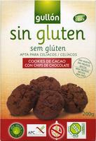 Cookies de cacao con chips de chocolate sin gluten, - Product