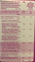 Cookies de cacao con chips de chocolate sin gluten - Informations nutritionnelles - es