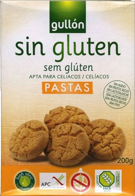 Pastas sem glúten - Product