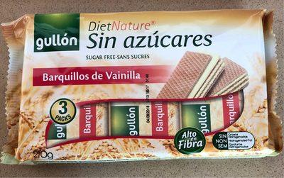 Diet Nature barquillos de vainilla sin azúcar - Producto - es
