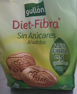 Diet-Fibra - Galletas sin azúcares añadidos - Producto - es