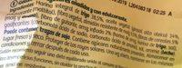 Diet-Fibra - Galletas sin azúcares añadidos - Ingredientes - es