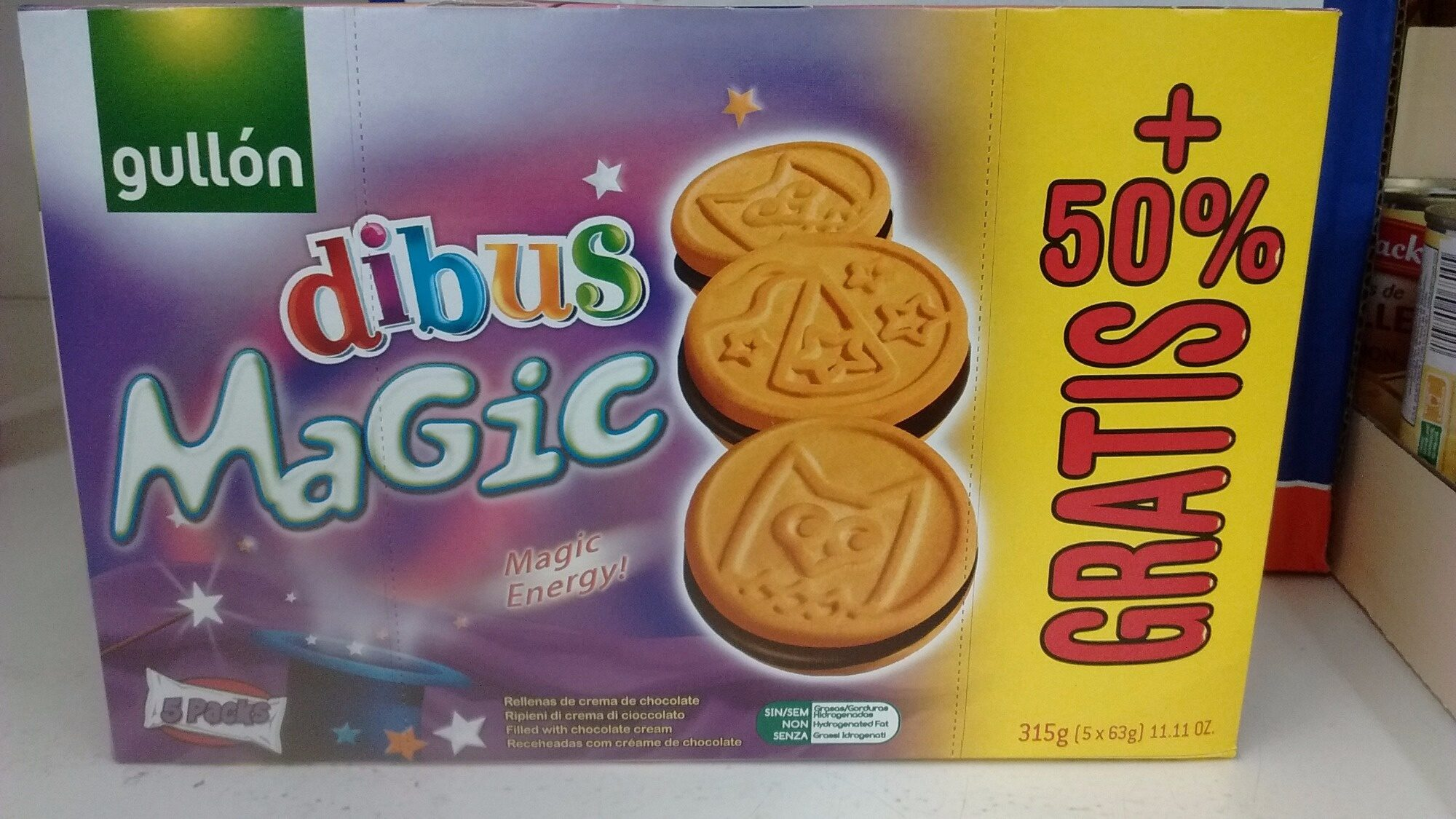 Magic dibus - Product