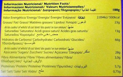 Magic dibus - Voedingswaarden