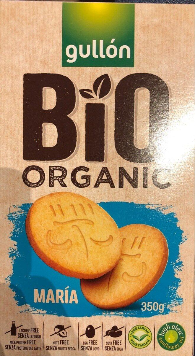 Bio organic galletas maría sin lactosa, sin huevo, - Produit - fr