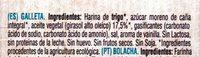 María Bio organic - Ingredientes