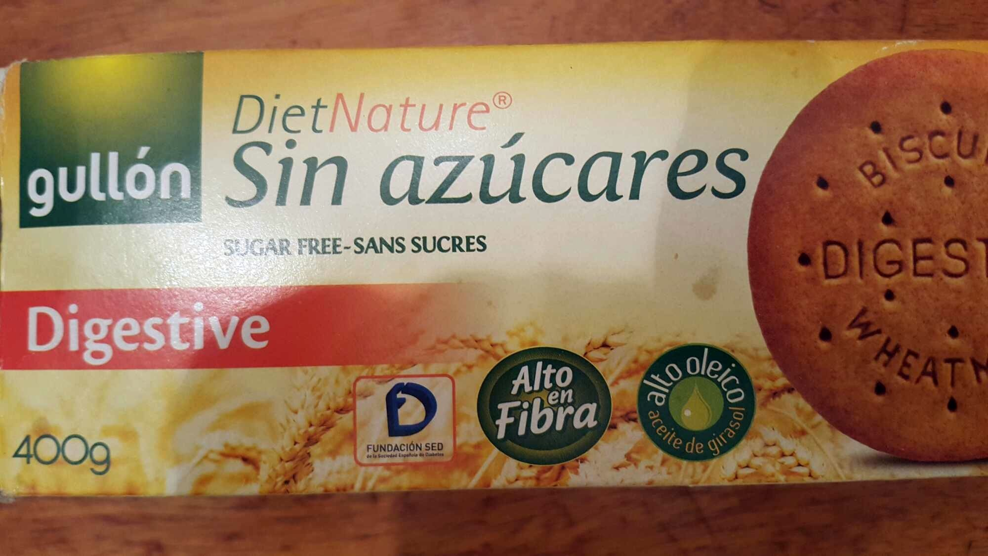 Diet Nature Digestive sin azúcares - Product