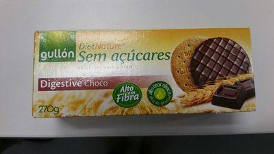 Gullon digestive choco sin azúcares - Producte